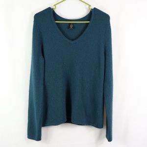 SARAH SPENCER NYLON/ANGORA/LAMBSWOOL SWEATER XL